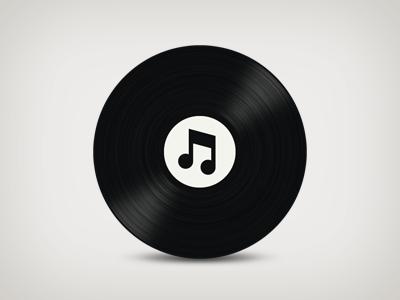 vinylTunes 2.0 icon music vinyl itunes