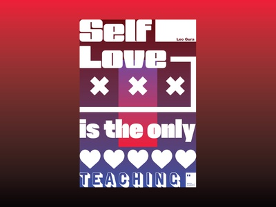 Self Love is the only teaching quoteoftheday quote prints printdesign notebook mug wallpaper tshirt print posterdesign posteraday poster totebag motivationalquote motivation minimalism inspiration dailyposter artwork art