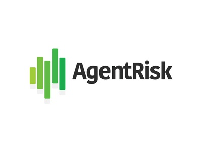 Agentrisk logo stocks agents logo investing