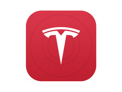 Tesla Concept: iOS icon  mobile icon ios tesla