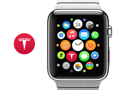 Tesla Concept: Apple watch icon apple watch apple icon
