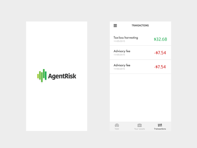 Agentrisk iOS mobile stocks invest ios