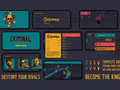 Criminal - AR Game augment augmented reality augmentedreality game art game design game app design appdesign app auto theft criminal