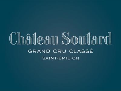 Château Soutard - St-Emilion wine saint-emilion château castle castel castilo wine vin vino identity charte charter logo