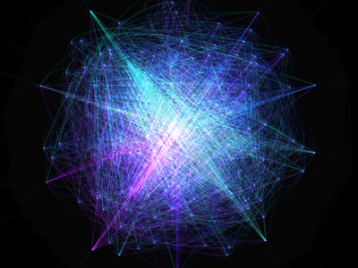 Abstract Canvas Visualization canvas html5 javascript abstract visualization light