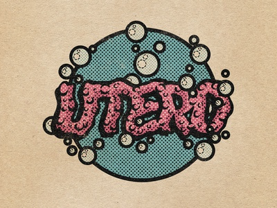 """UTERO"" band logo"