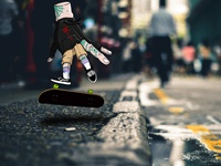 Thing Fingerboarder (personal)