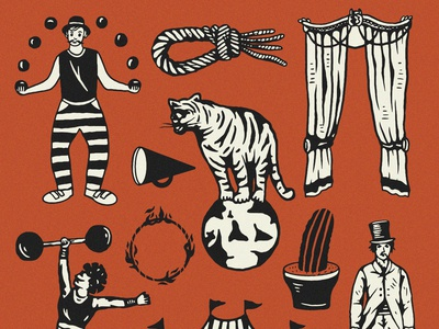 Circuss Illustrations