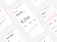 Steps Tracking App