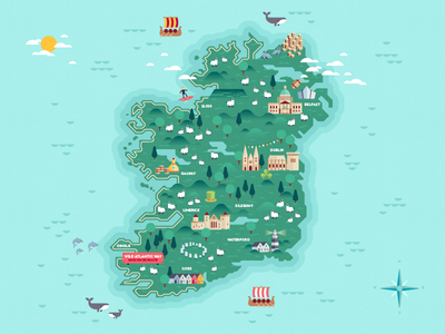 Map of Ireland #3