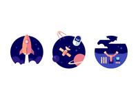 Galactic illustrations