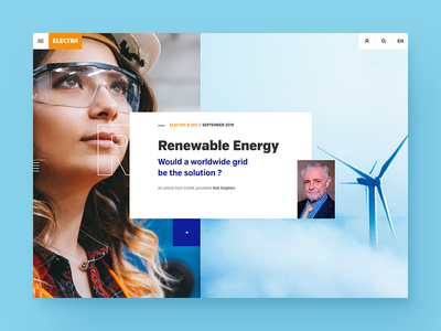 UI test for an online journal system power ui design energy electra journal