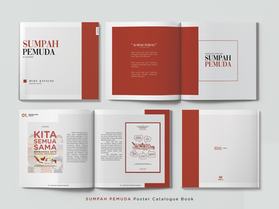 SUMPAH PEMUDA Poster Calatogue Book
