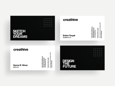 Creathive Business Cards