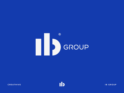 IB Group type logotype logo lettering illustration identity design branding b ıb monogram