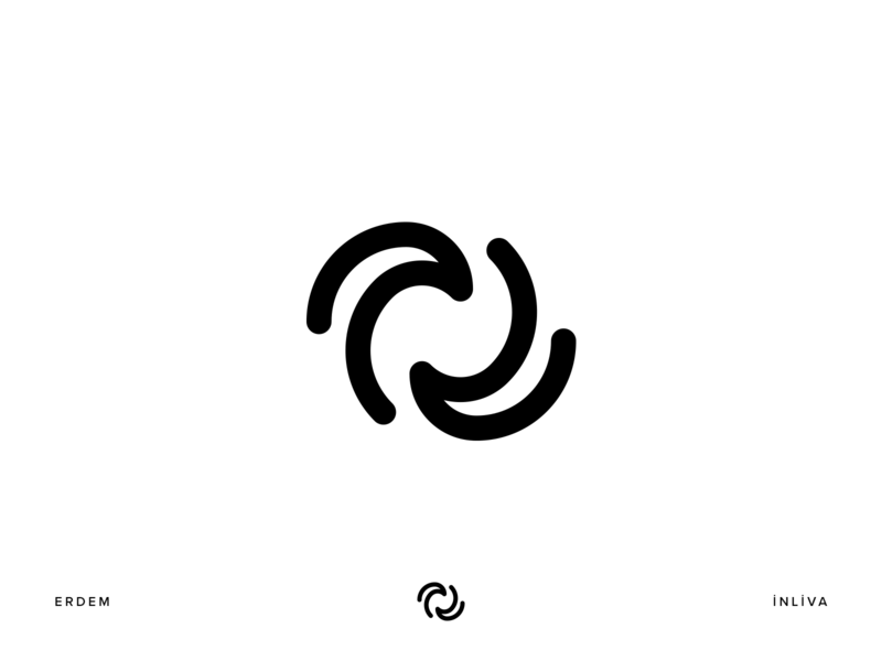 inliva technology wave symbol icon monogram design illustration identity branding logo