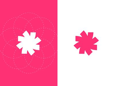 Windmill windmill wind rose symbol icon logotype design identity illustration branding logo