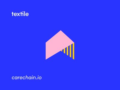 Textile Iconography ui symbol monogram icon design identity illustration branding logo