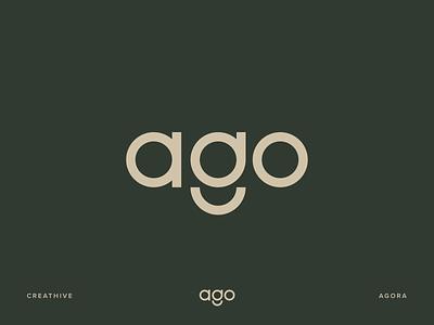 Agora Youth Symphony Orchestra lettering symbol monogram icon logotype design identity illustration branding logo