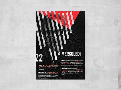 Branded Poster for Film Festival poster design concept design branding