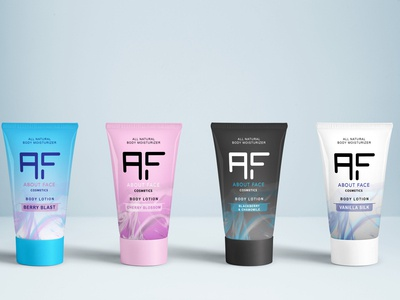 """About Face Cosmetics"" Body Lotions"