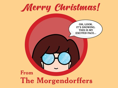 Daria Christmas Card