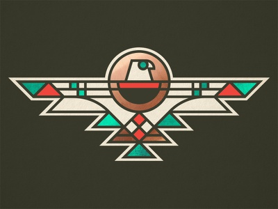Spur Cross Artisans navajo phoenix bird turquoise copper thunderbird arizona southwest