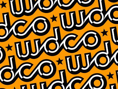 WDCo Bevel Pattern stars bevel gold pattern wdco