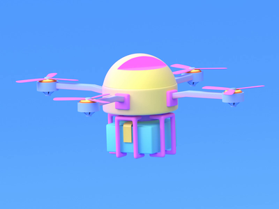 3d drone animation 3d animation web delivery drone animation 3d