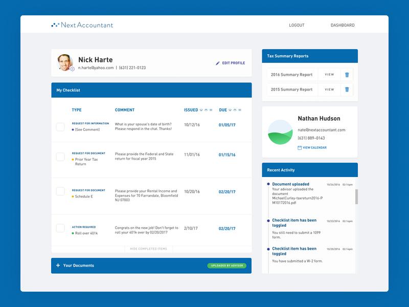 User Dashboard   Default dashboard finance ui