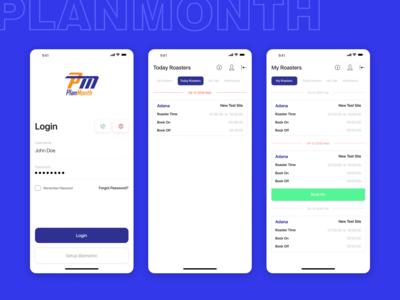 PlanMonth App