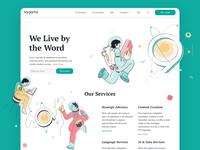 Tarjama Content Creation Services Website