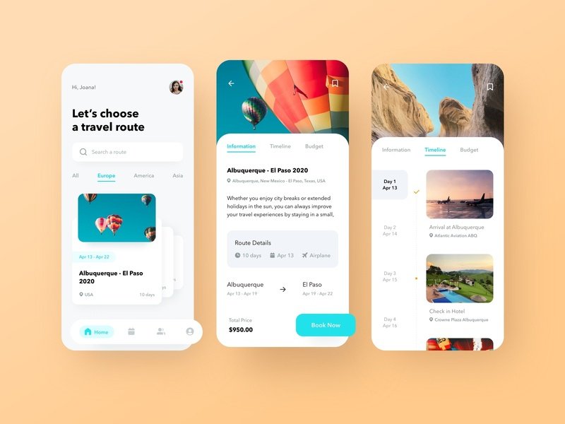 Travel Route App trip trip planner journey booking app booking flight booking tourism travelling traveling travel app travel ios app uiux interface ui