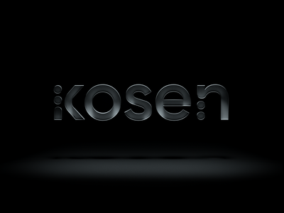 KOSEN - Inclusive Branding Concept service service ui blind dark ui dark logo branding minimal uiux ux interface ui vision disabilities interaction navigation concept visual identity inclusive
