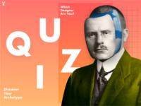 Dribbble invites for quiz