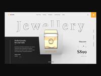 Jewellery - website animation