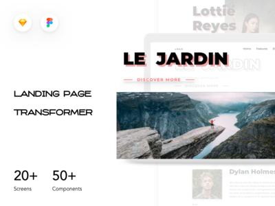 Landing Page Transformer