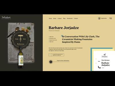 Barbarestan - Horizontal navigation