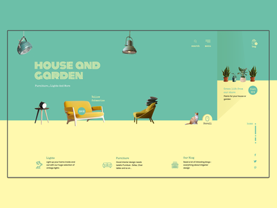 ShowRoom Concept colors web ui colorful online shop website web design design web concept webdesign
