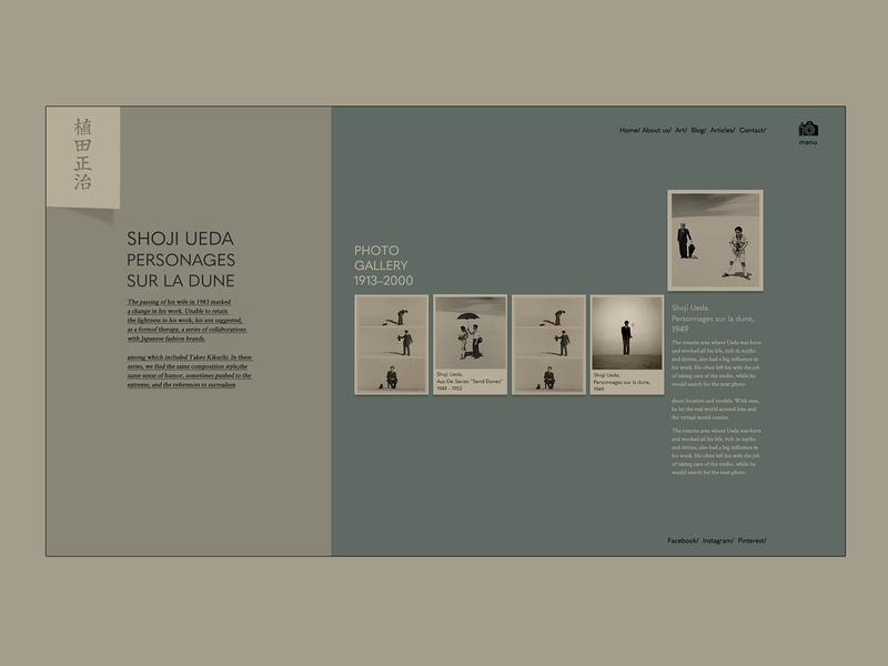 Shoji experiment colors web design colorful ui web webdesign ilo chani web concept design