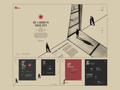 UI-xperiment colors web design experimental ui design web web concept ilo chani colorful webdesign