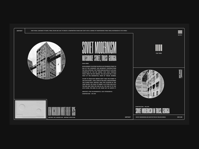 White Relief blackandwhite modernism abstract ilo chani experiment website web product design productdesign product page ui