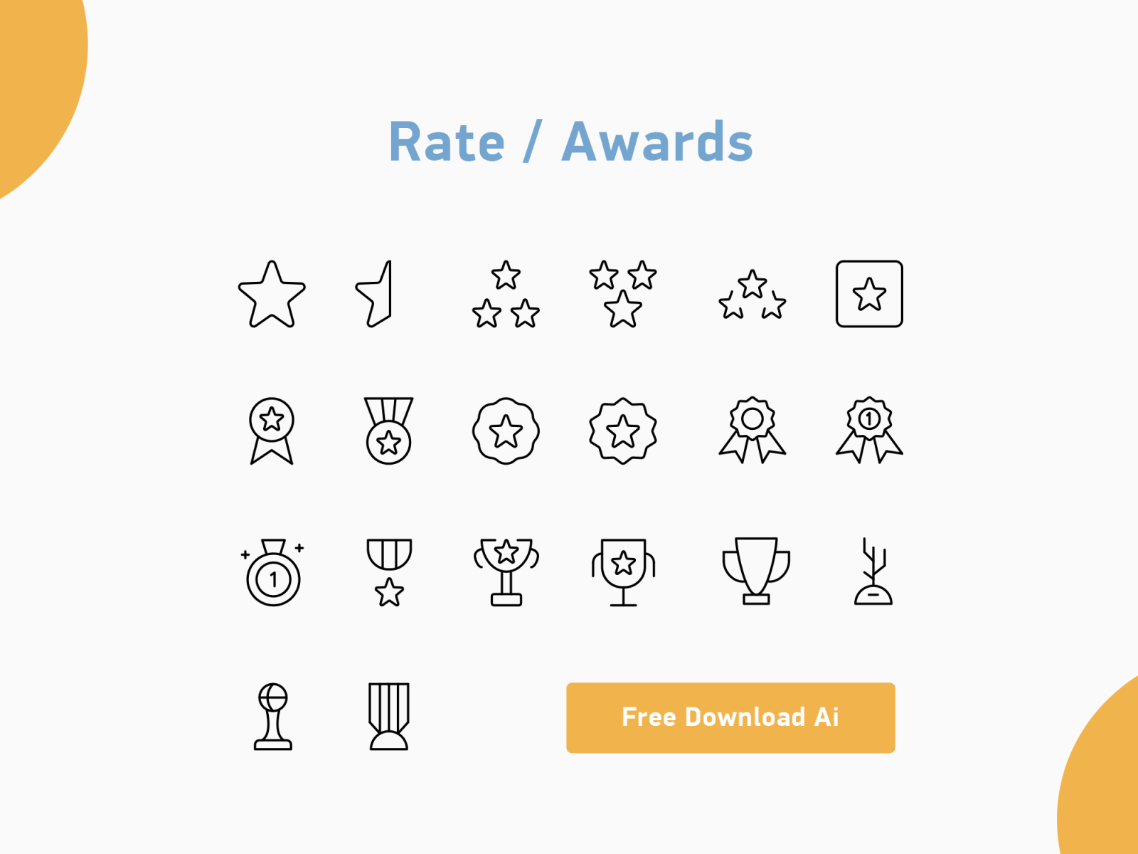 Rate / Awards