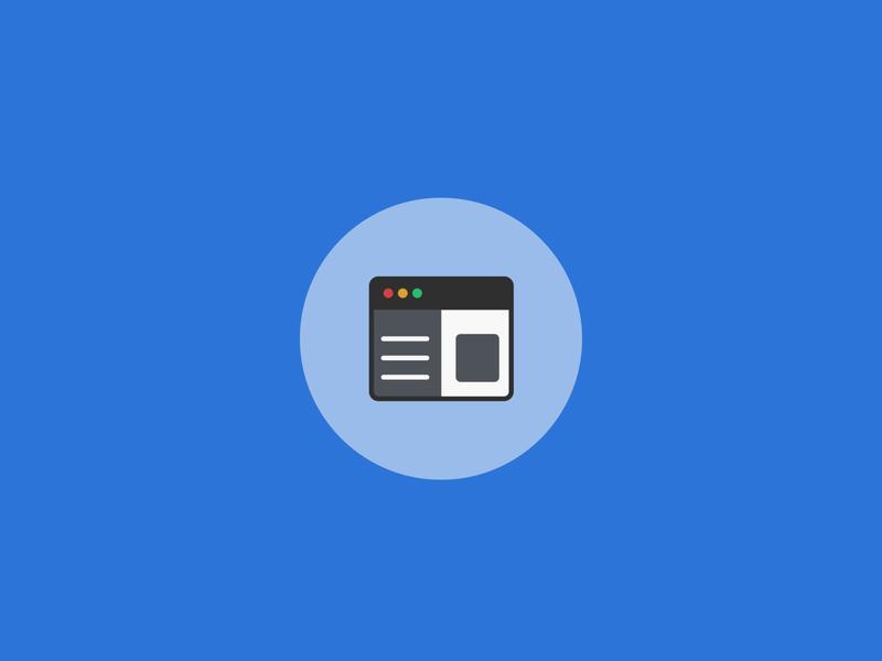 Development icon web app programming coding development illustration design icons