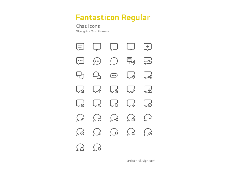 Chat icons action bubbles chat design illustration icons