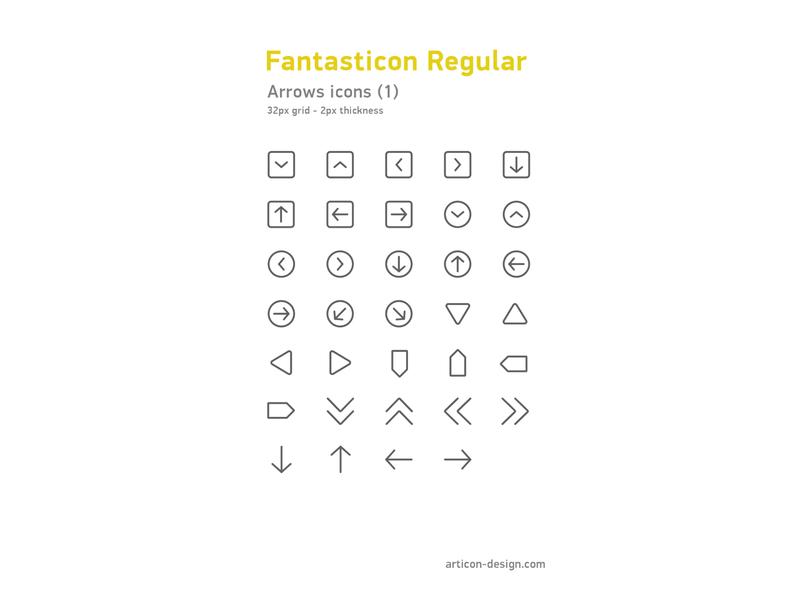 Arrows icons arrows vector illustration design icons