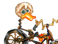 Ready for a quack ride?