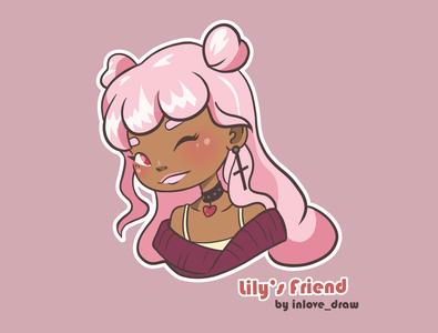 Lily s Friend Pinky