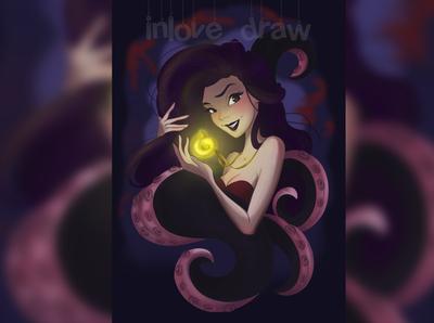 Vanessa from Little Mermaid