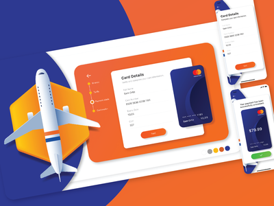 DailyUI 002 - Credit Card Checkout web vector ui xd design xd app dayli challenge illustration design